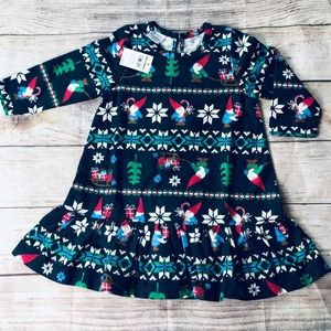 Hanna Andersson 2t knome holiday dress